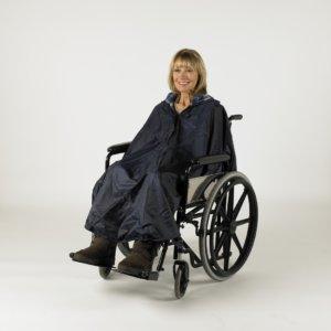 Poncho rolstoel